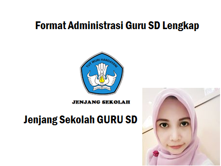 format administrasi guru sd lengkap