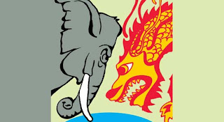 Elephant versus Dragon