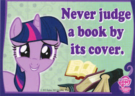 My Little Pony Never judge a book by its cover. Series 2 Trading Card