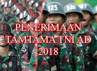 Informasi Penerimaan Tamtama TNI Angkatan Darat 2018-2019 Terbaru