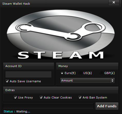 Steam Wallet Hack ~ Vorv Hacks
