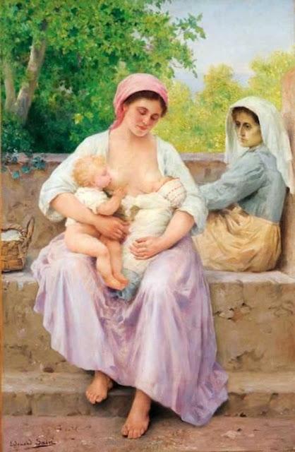 Édouard Alexandre Sain - Материнская милость