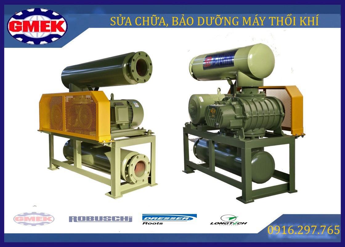 Máy thổi khí, Roots blower, sửa chữa máy thổi khí, bảo dưỡng máy thổi khí, sửa chữa quạt Roots blower