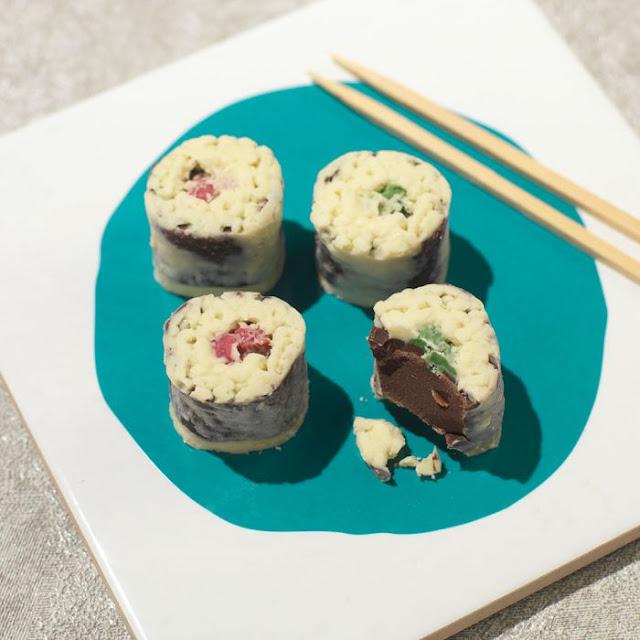Choc on Choc Chocolate Sushi