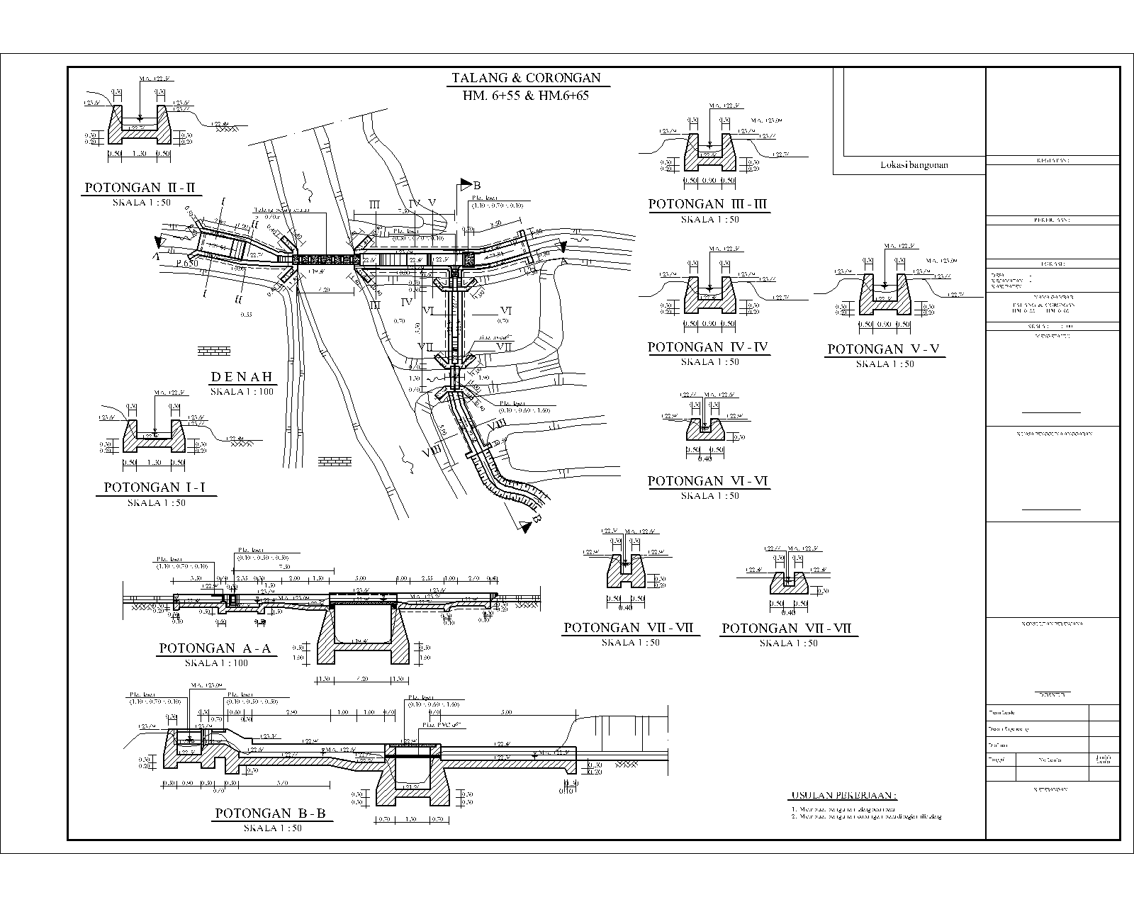 RANCANG GRIYA: Contoh Gambar Desain Bangunan Air