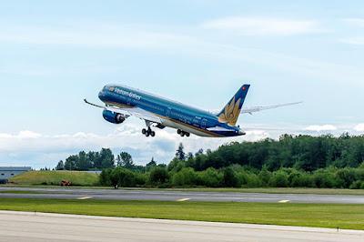 Máy bay mới của Vietnam Airlines