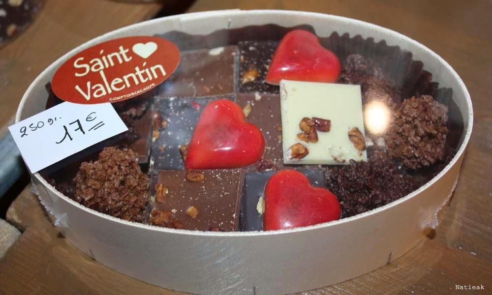 coffret saint valentin comptoir du cacao