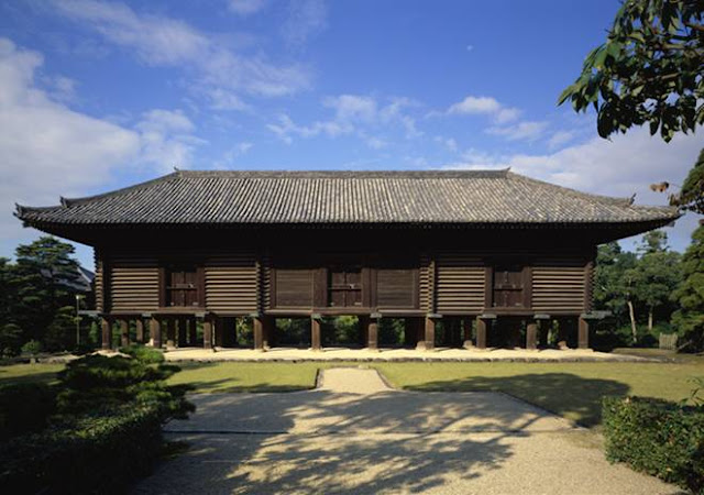 Shosoin Display for pubic at Nara National Museum