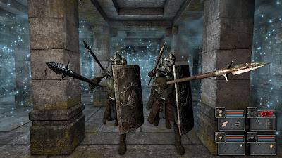 Legend of Grimrock+pc+game+gameplay screen+roll game+old school+retro+rgp+download free+videojuego+descargar gratis