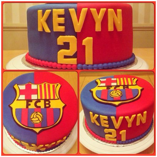 kue ulang tahun barcelona