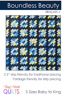 Boundless Beauty Quilt Pattern by Myra Barnes