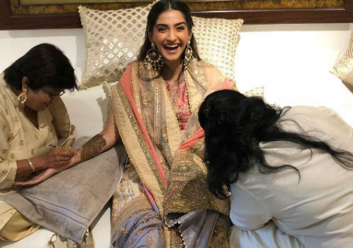 Sonam Kapoor Wedding and wedding Dress