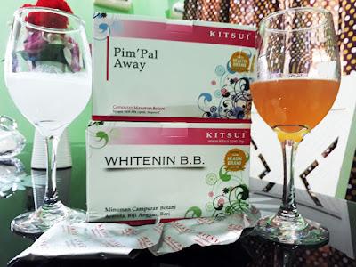 Kitsui Whitenin B.B. dan Kitsui Pim'pal Away
