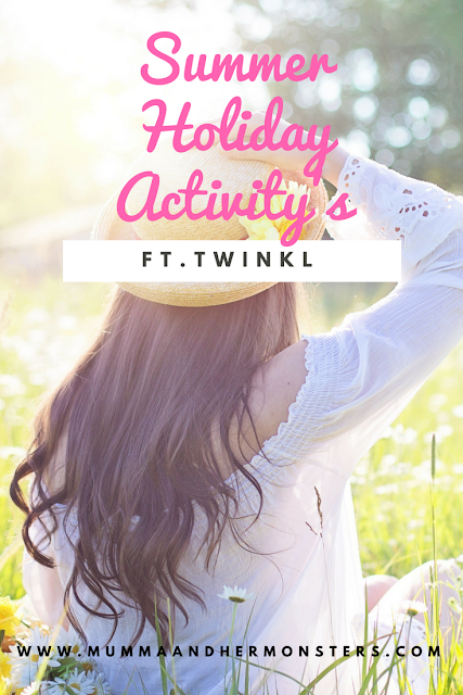 Summer Holiday Activity's Ft. Twinkl