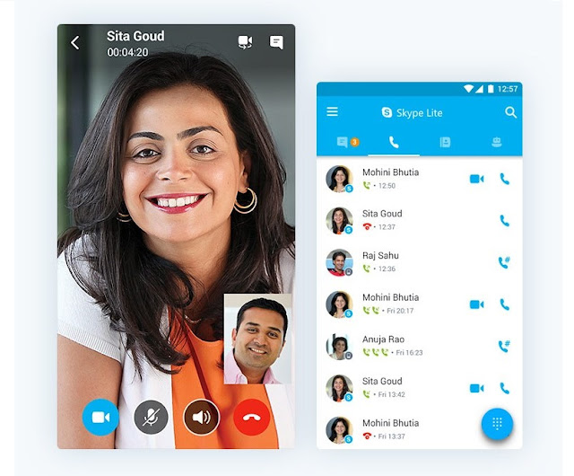 Microsoft Released Skype Lite Version