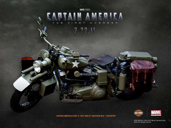 bray hill la moto di captain america. Black Bedroom Furniture Sets. Home Design Ideas