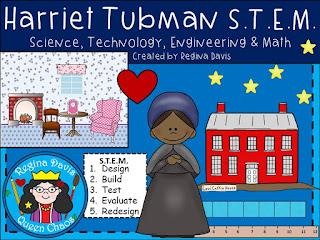 https://www.teacherspayteachers.com/Product/STEM-Science-Technology-Engineering-MathUnderground-Railroad-Harriet-Tubman-1944358