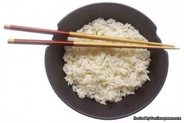Tangkap nasi dengan chopstick