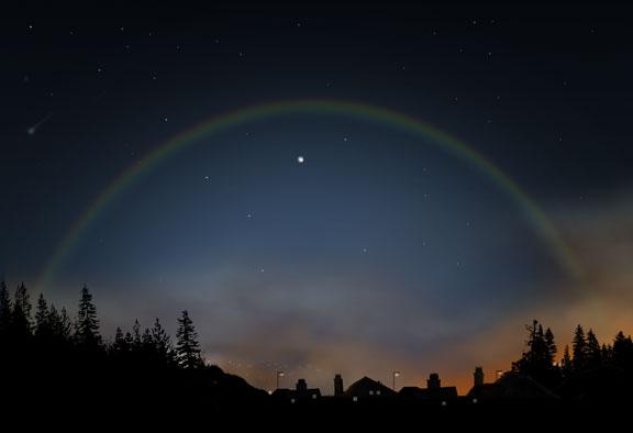 地球の美しさと出会える絶景?美しい虹の種類と画像14枚 ムーンボウ