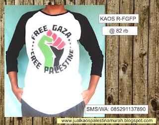Kaos Palestina Free Gaza Free Palestine