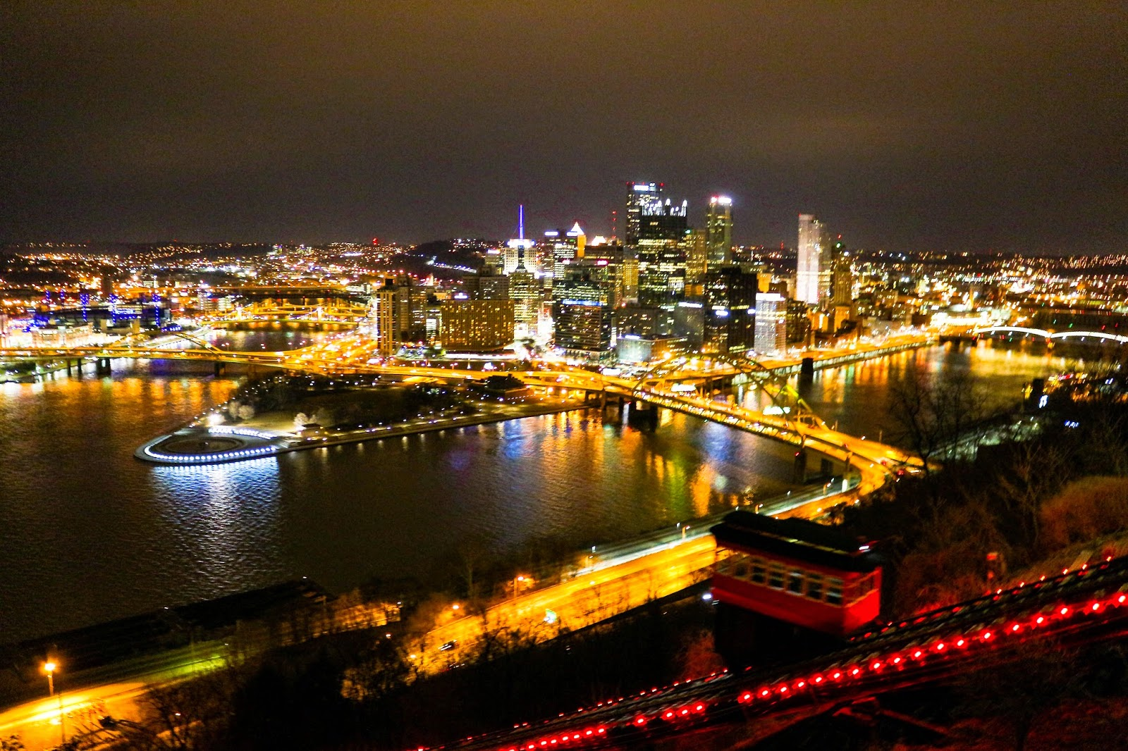 Tom Ratchkauskas Photography: Pittsburgh-Night