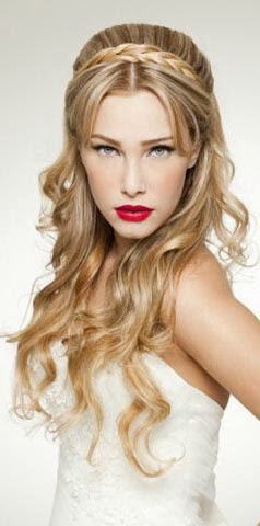 Peinados Con Trenzas Con Pelo Suelto Elainacortez - Peinado-suelto-con-trenzas