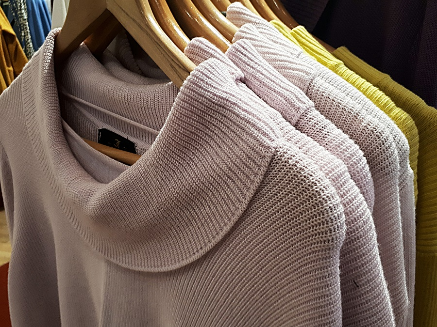 blush pink festive jumper, The Winsome Lady, The Style Guide Blog, NI