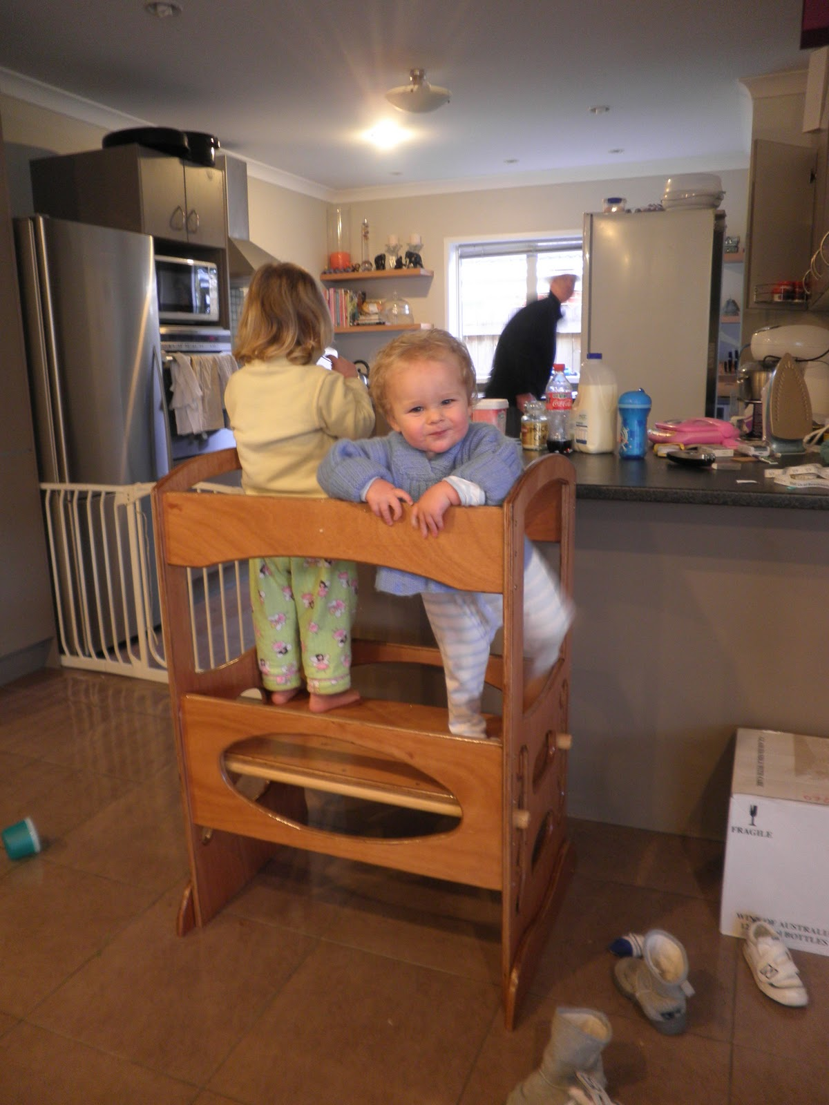 Stool For Toddler In Kitchen