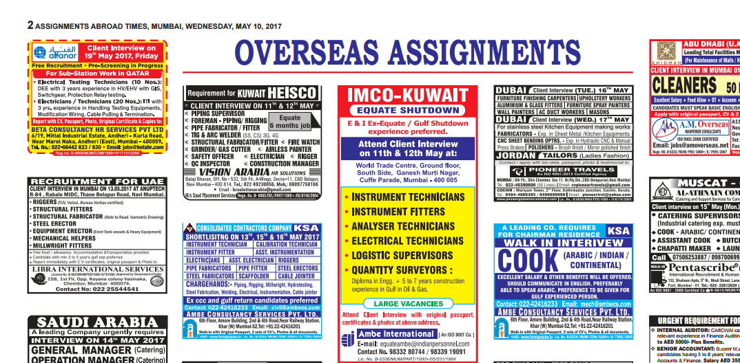 assignment abroad times pdf