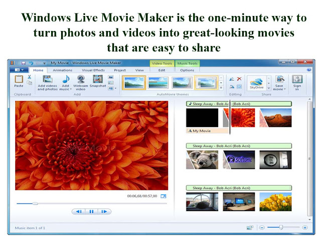 one minute easy to use windows movie maker