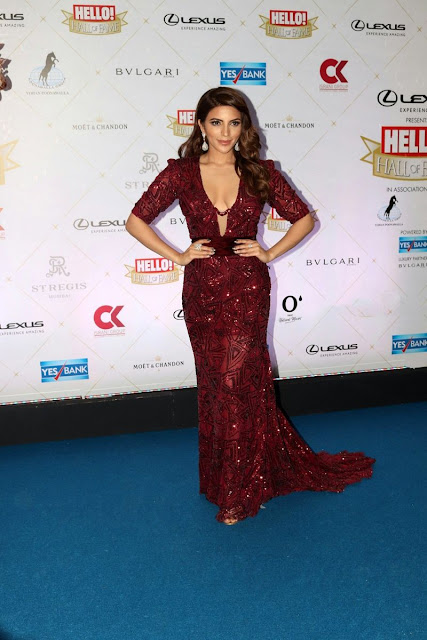 Shama Sikander at Hello! Hall Of Fame Awards 2018