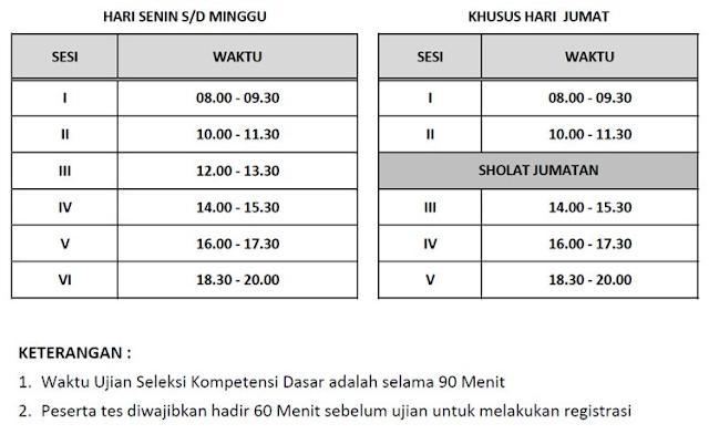 Jadwal Pelaksanaan Tes SKD CPNS Tahun 2018 se Indonesia
