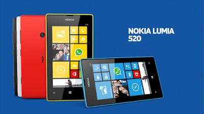 Thay man hinh dien thoai Nokia Lumia 520