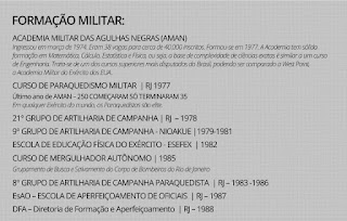 Formação Militar de Jair Bolsonaro