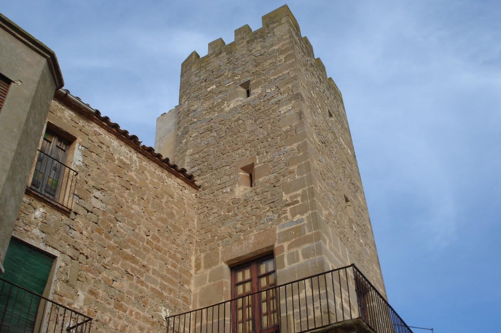 Castell de Florejacs, a la província de Lleida, Espanya