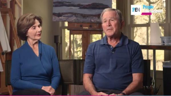 """Trump: Political Climate in Washington """"pretty ugly"""" – George W. Bush"""