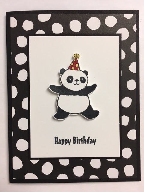 My Creative Corner Party Panda 2018 Stampin Up Sale A Bration