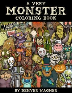 FREE DOWNLOAD! A VERY MONSTER COLORING BOOK