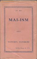 MAI-ISM BOOK EDITION 1952
