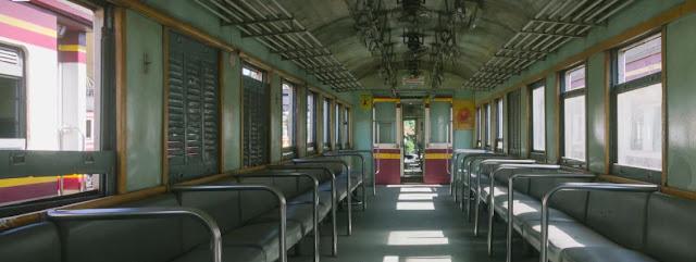 seat in a train