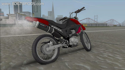 GTA SA - Honda Bros 160 Wheeling
