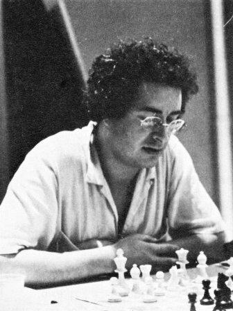 Michel Benoit au championnat de France 1982 - Photo © La Revue des Echecs janv-mars 1983