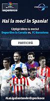 Castiga doua bilete la meciul dintre Deportivo La Coruña si FC Barcelona