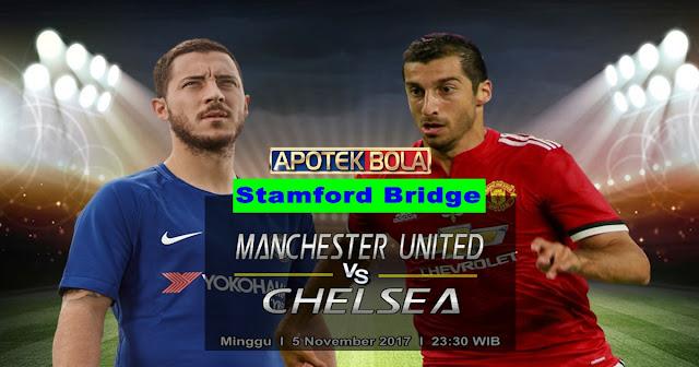 Prediksi Chelsea vs Manchester United 5 November 2017