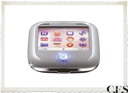cellulare Vanity Evo con effetto Swivel con Zirconi