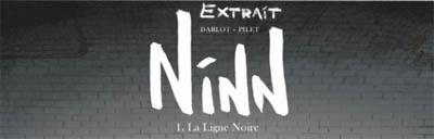 [7BD] Ninn - tome 1 - La ligne noire - lire un extrait