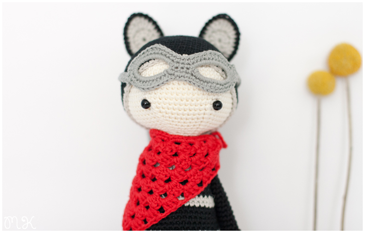 amigurumi roco the raccoon by lalylala