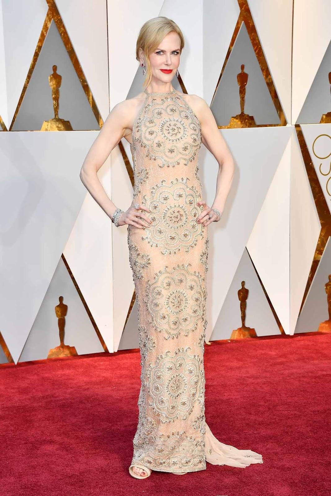 Nicole Kidman en Armani.