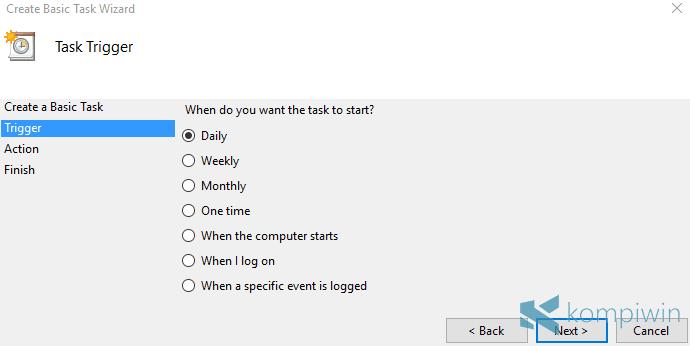 Cara Membuat Auto Shutdown Sendiri dengan Fitur Bawaan Windows Ini 9
