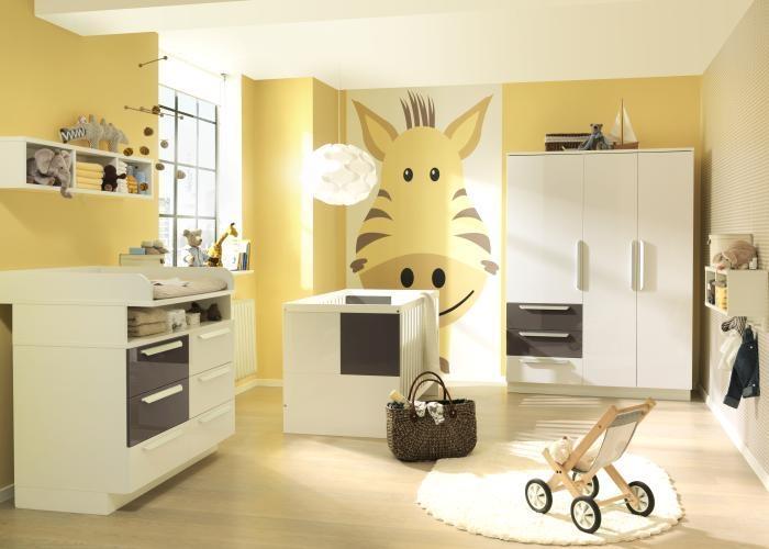 Dormitorio amarillo para beb dormitorios colores y estilos - Color paredes habitacion bebe ...